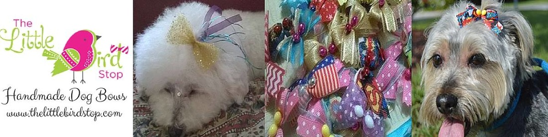 The Little Bird Stop Handmade Dog Bows and Bow Ties
